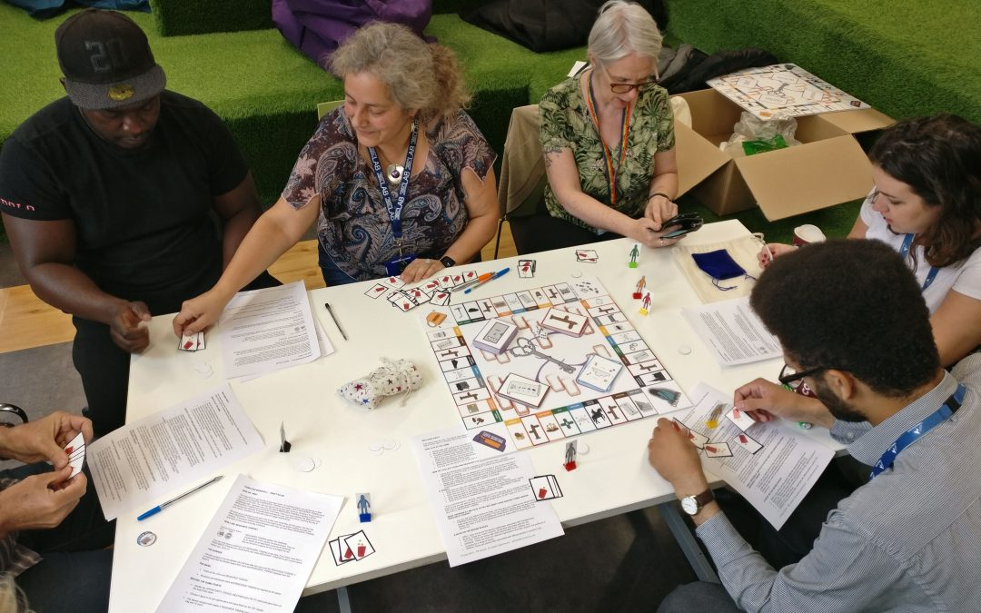 Piloting Homeless Monopoly in the Community
