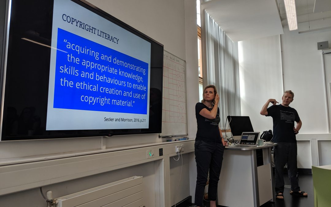 Copyright literacy and playful learning